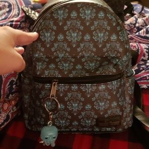 Handbags - Loungefly haunted mansion backpack!